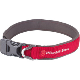 Mountain Paws Dog Collar Animal Crate XL grey/red